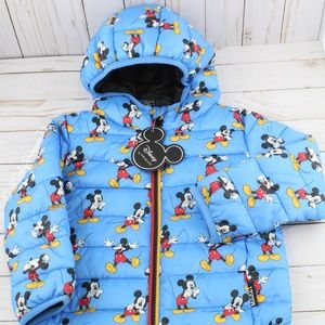 Disney Baby/Toddler Mickey Mouse Puffer Coat